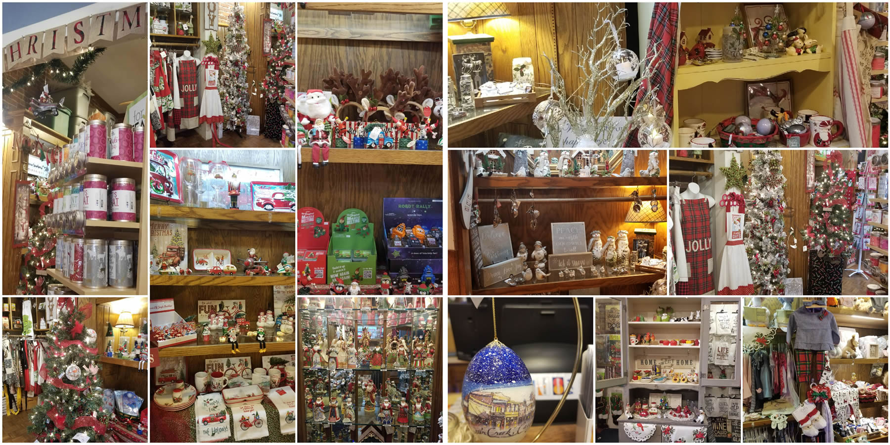 christmas at creeky cupboard in sutter creek ca
